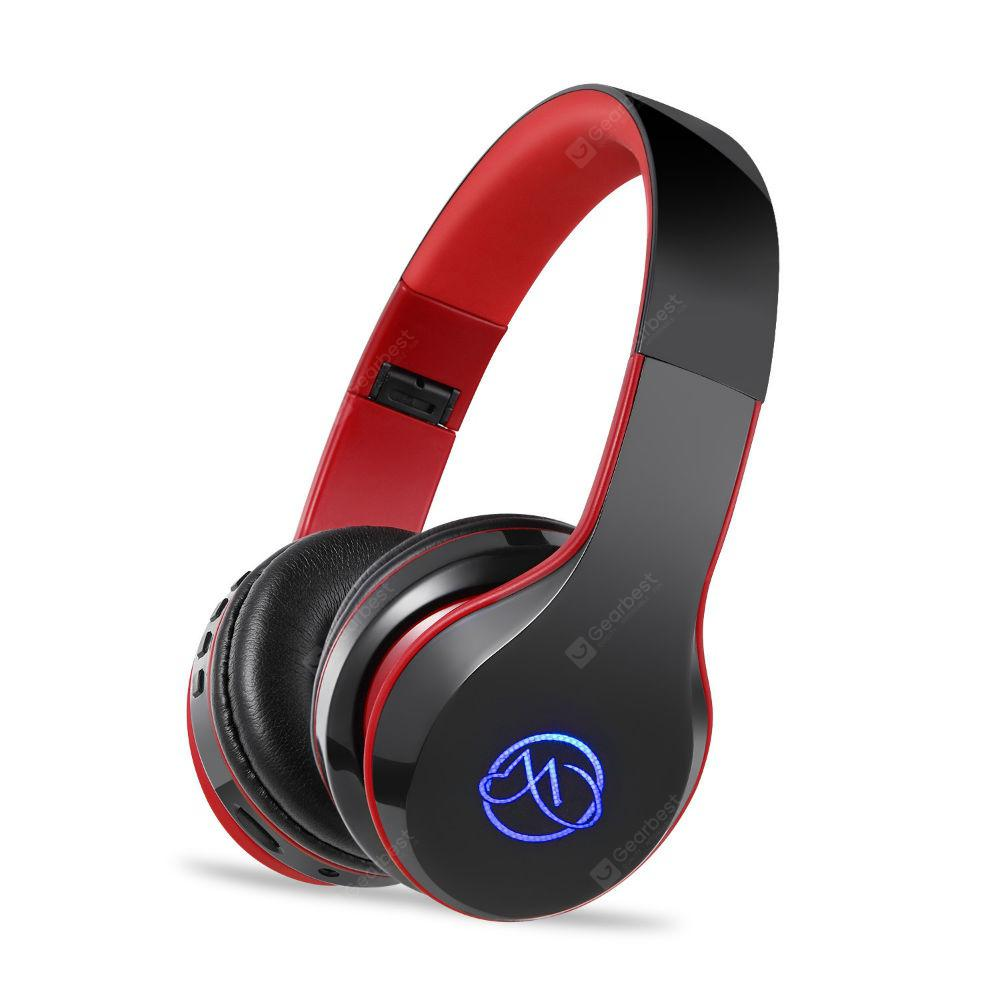 Bluetooth Headphones Over Ear with Built-in Mic HD Stereo Sound Noise - CHILLI PEPPER