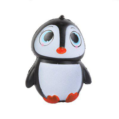 Jumbo Squishy Стильный пингвин PU Stress Reliever Toy