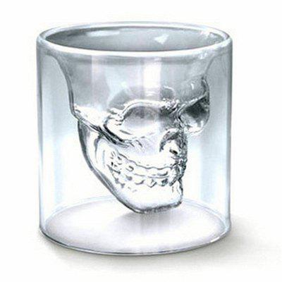 Sizes Halloween Skull Cup Wine Head Creative Party Drink Ware Transparent