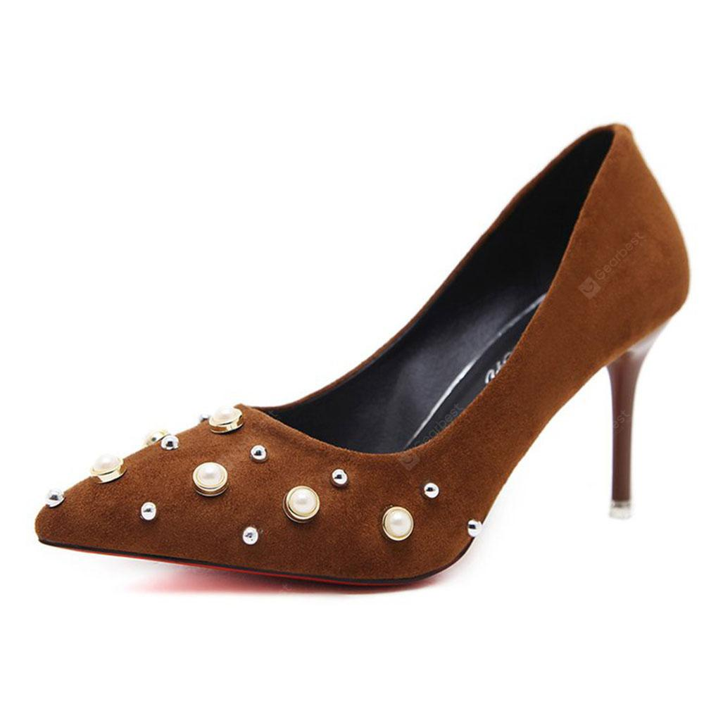 Spring New Pointed High Heels Single Shoes Comfortable