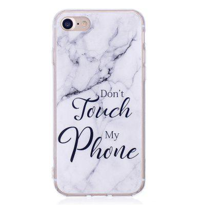 Fashion Marble Phone Case for iphone 7 Soft TPU Cover Fundas Case hybrid rugged armor shockproof tpu cover case for iphone 7