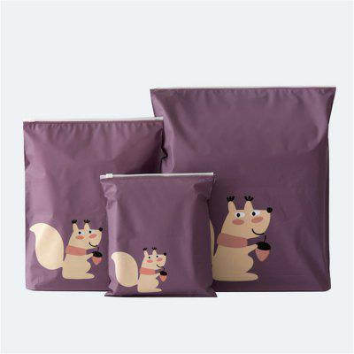 Cartoon Waterproof Zipper Storage Bag