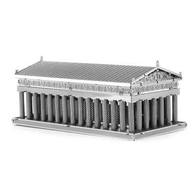 3D kovový Athens Temple model Kit Puzzle