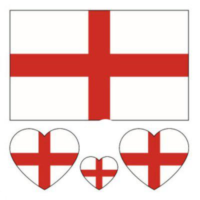 The Football World Cup England Flag Body Tattoo Stickers