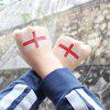 The Football World Cup England Flag Body Tattoo Stickers - MULTI