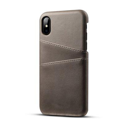 PU Leather Case for IPhone X Cover Protective Card Holder Wallet Mobile mercury goospery milano diary wallet leather mobile case for iphone 7 plus 5 5 grey