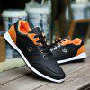 ZEACAVA Autumn New Fashion  Men's Shoes British Tide Male Lace Casual Shoes - BLACK