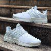 ZEACAVA New Fashion Men's Casual Running Breathable Sport Shoes - WHITE
