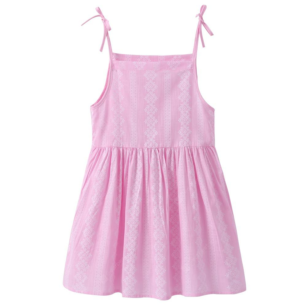 Girls Summer Floral Dress Strap Casual