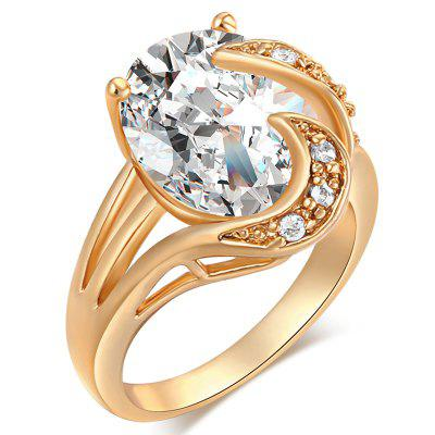 Fashion Micro-set Cool Personality Zircon Ring J0588