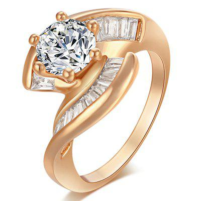 Protect the High-end and Delicate Zircon Ring J0680