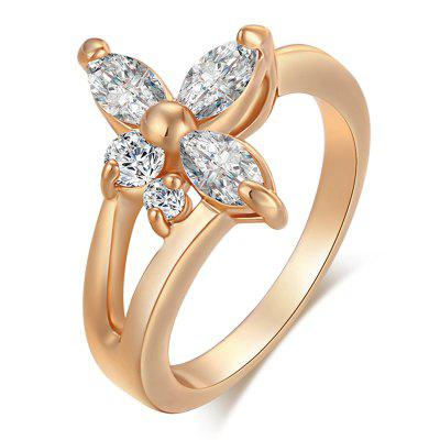 Fashion Out of Exquisite Zircon Ring J0707