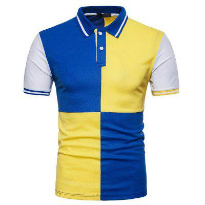 New Summer Men's Short Sleeved Polo Shirt