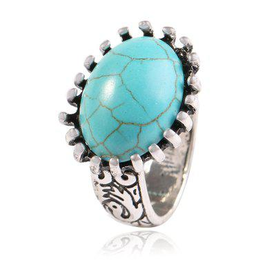 Popular Hand Act The Role Ofing Fashion Square Stone Ring