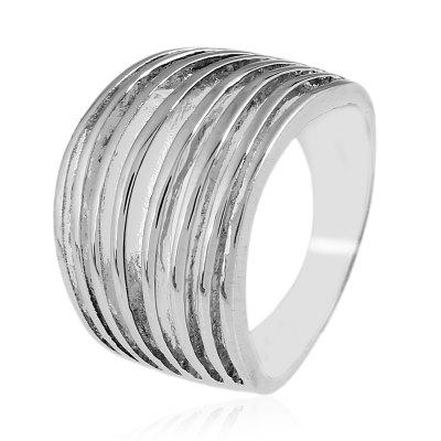 Fashion Personality Multilayer Electroplating Ring