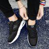 New Spring PU Leather Cushion Men'S Shoes - BLACK
