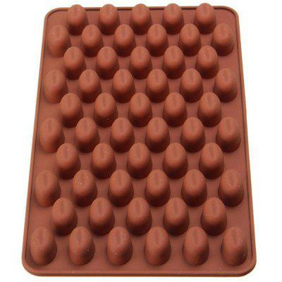 New Mini Coffee Beans Silicone Chocolate Mold Baking Tools 1PCS