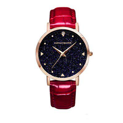 New 2018 Japanese Movement Fashion Simple Student Leisure Star Women Watch