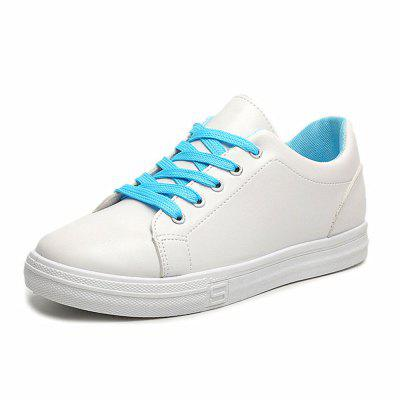Flat with Round Lace Sports Shoes