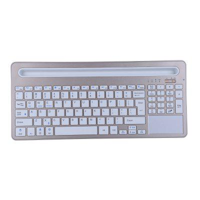 Wireless Bluetooth 3.0 Keyboard With Tablet Holder for iOS Android Windows Mac O