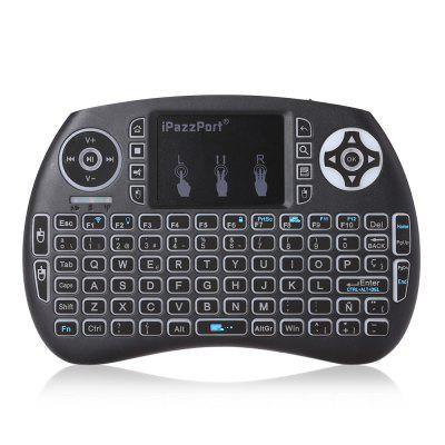 iPazzPort Wireless Mini Spanish Keyboard with Touchpad for Smart TV Linux Mac..