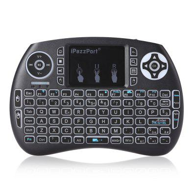 iPazzPort Wireless Mini Italian Keyboard with Touchpad for Smart TV Linux Mac..