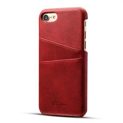 Suten for  iPhone 8 Case Luxury Brand Leather With Card Cases Mobile Phone Shell Coque