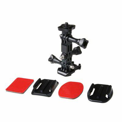 Action Camera Helmet Tripod Mounts for GoPro Hero 5 / 4 / 3 / Xiaomi Yi 4K Set