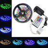Led Strip Lights Kit 3528 5M 300leds RGB 60leds / m 44key Ir Controller e 3A Alimentação AC100-240V - MULTI