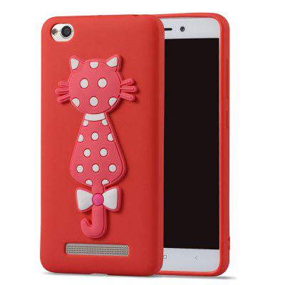TPU Case for Xiaomi Redmi 4A 3D Cat Pattern