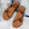 Summer New Casual Men's Feet Slippers - DEEP COFFEE