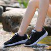 Men's Summer New Breathable Thin Section Mesh Sports Shoes - BLACK