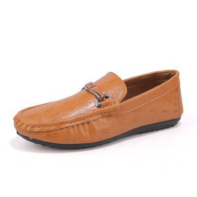 Men Driving Premium Genuine Leather Fashion Casual Slip On Loafers Shoes