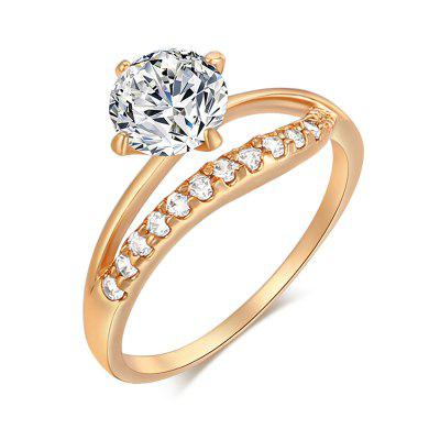 Version of Micro-set Lets Lovely Accompany You Everyday Ring J0116