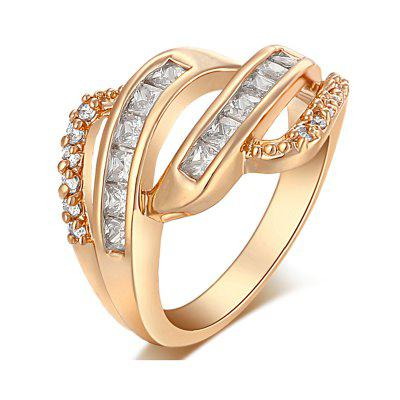 Fashion Oath Zircon Ring  J0371