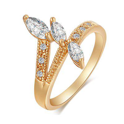 Fashion Micro-inlaid Zircon Ring J0717