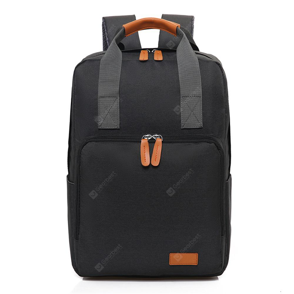 Canvas Fashion Simple High-Capacity Travel Computer Backpack