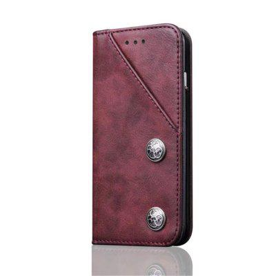 For iPhone X Leather with Case Credit Card Holder Slot and Shockproof Protective sports protective pu leather case w card holder slot neck strap for iphone 5 5s deep pink