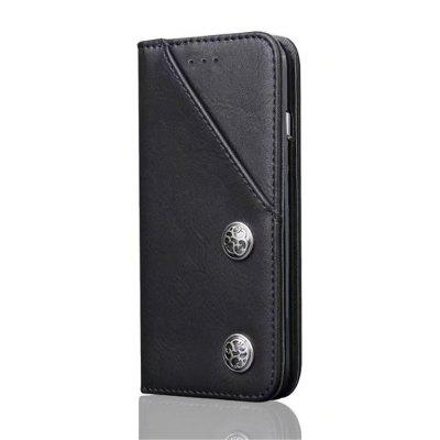 For iPhone X Leather with Case Credit Card Holder Slot and Shockproof Protective