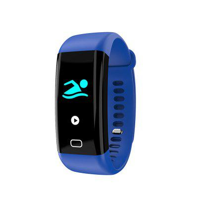 F07 OLED Color screen Bluetooth Smart Band Bracelet IP68 Waterproof Swim Heart Rate monitor Smartband for Android