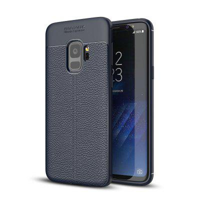 Do Samsung Galaxy S9 Case Soft Silicon Luxury Brushed Case with Texture