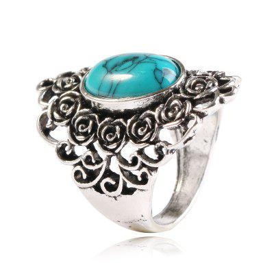 Popular Hollow-out Decorative Pattern Index Finger Ring