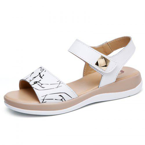 fc95ec816 Summer New Style Two-Color Bottom Ladies Sandals
