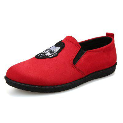 Head Pattern Leisure Male Version Driving Lazy Shoes