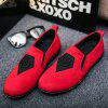 Head Pattern Leisure Male Version Driving Lazy Shoes - RED
