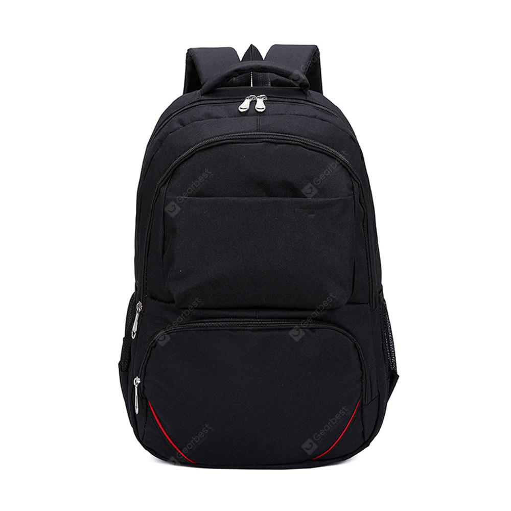 Fashion Simple and Large Capacity Wild Canvas Travel Backpack Tide