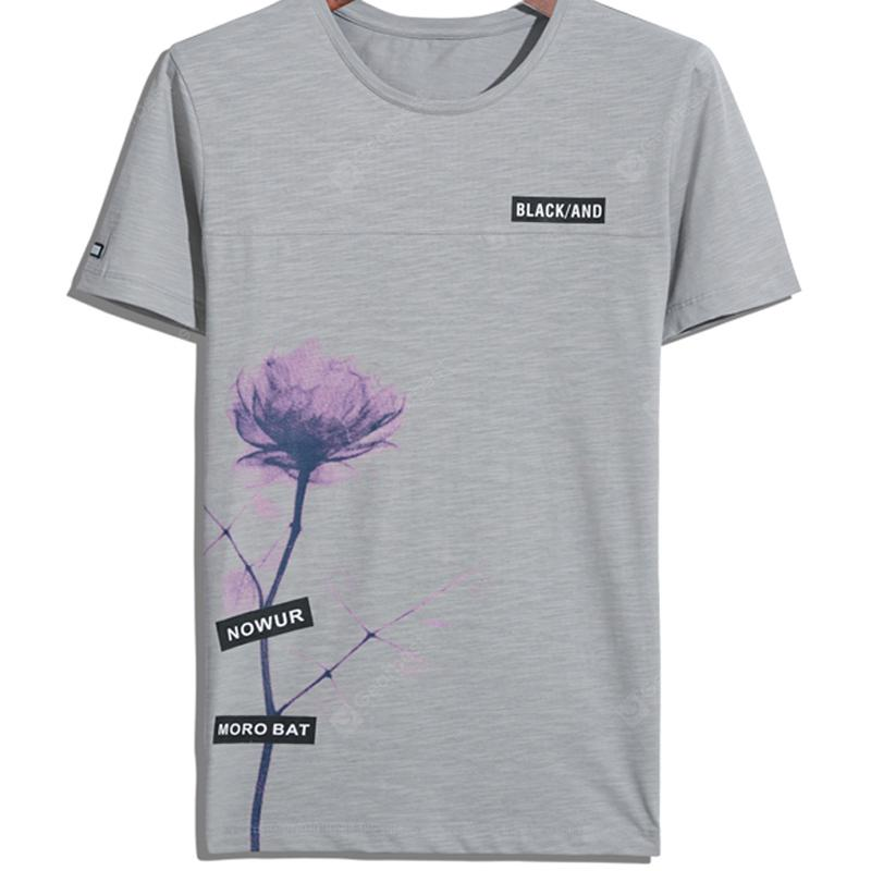 Summer New Fashion Print Men's T-shirts
