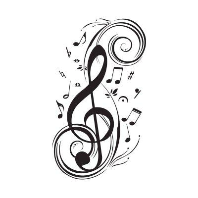 DIY Musical Note Home Decor Music Wall Stickers Waterproof Removable Vinyl Decal