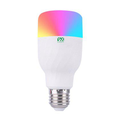 YWXLight Colorful APP WIFI Control remoto Smart LED RGBW Romántico Bombilla