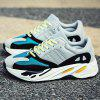 ZEACAVA Men's Size Size Fashion Mesh Sports Shoes - CINZENTO